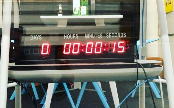 Der Countdown bei Instagram